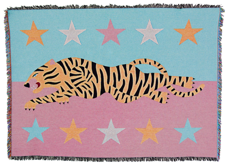 TIGERintheSTARS_Tapestry_MichelaPicchi